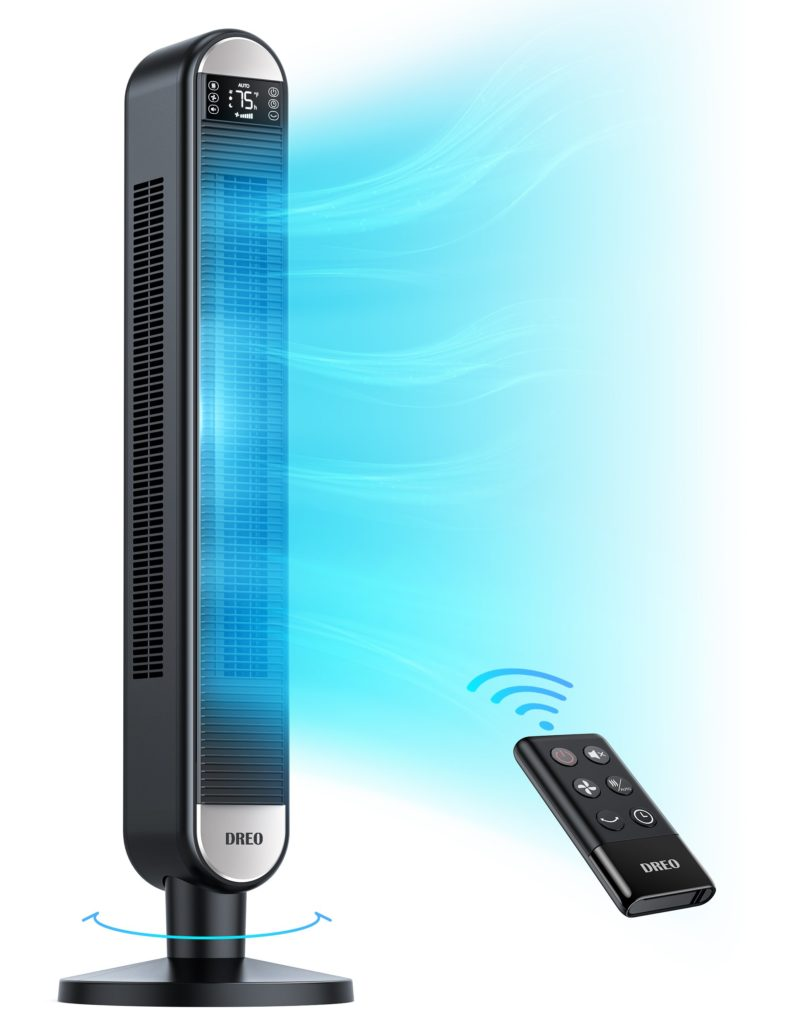 Dreo Tower Fan With Remote